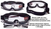 Evader 2 Over Glasses (OTG) Goggles  Changers Day/Night @ specs4sports.co.uk